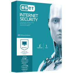 ESET Internet Security V9- 3 Licenses