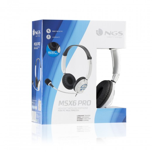 HEADSET NGS MSX6PRO