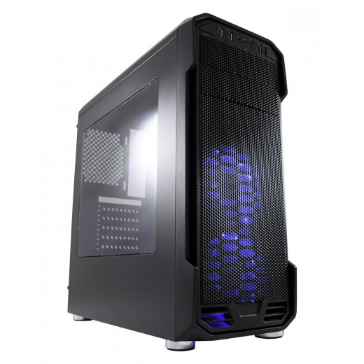 PC-SQUARE i3-8300 SOLO-FIGHTER [Blue Lighted] Gaming