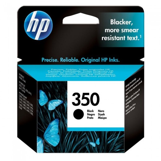 HP μελάνι inkjet 350 black