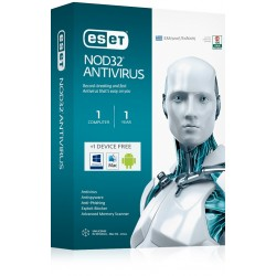 ESET NOD32 Antivirus V9 - 1 pc 1 year