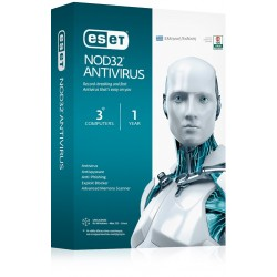 ESET NOD32 Antivirus V9 - 3 Licenses