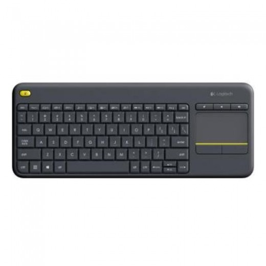 LOGITECH Keyboard Wireless Touch K400 Black